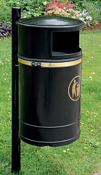 Abfallkorb MONTREAL, 40 Liter