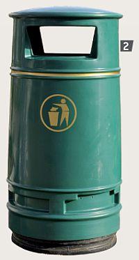 Abfallkorb MONTREAL, 90 Liter