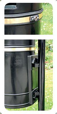 Pfosten für Abfallkorb Montreal und Augsburg 40 Liter