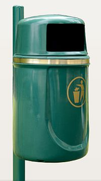 Abfallkorb AUGSBURG, 40 Liter