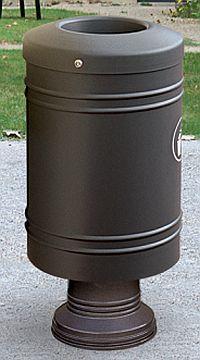 Abfallkorb GASCOGNE 60 Liter auf Sockel