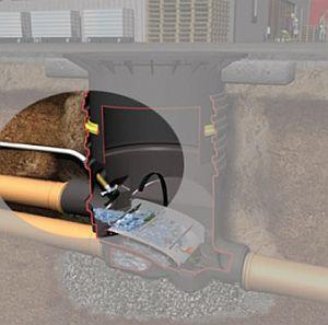 Reinigungseinheit Extern, Anschluss 19 mm (3/4) inkl. Einbauanleitung (Lieferung OHNE Schlauch!!)