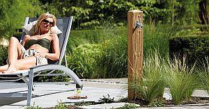 Wood Wasserzapfsaeule lightwood
