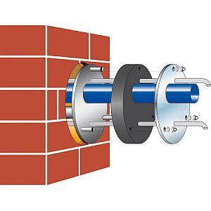GRAF Mauerdurchführung DN 100 und DN 150GRAF Mauerdurchfuehrung DN 100 und DN 150
