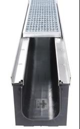 Schwerlast-Kunststoffrinne Kufor Stahl feuerverzinkt