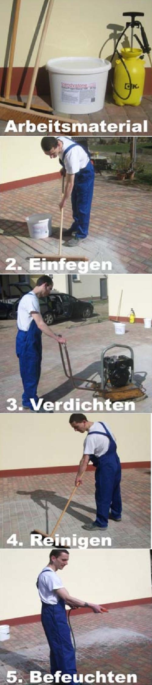 Gut gemocht Pflaster-Fugen-Mörtel, Fugensand Pflaster- | baushop24.com das HP69