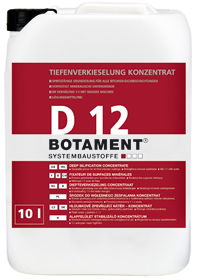 BOTAMENT� D 12 - Tiefenverkieselung-Konzentrat (BOTAZIT�)