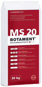 BOTAMENT� MS 20 - Sanierputz (BOTAZIT�)