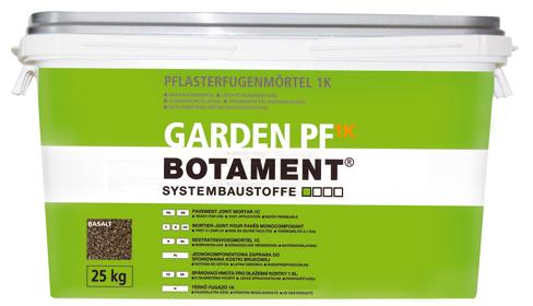 BOTAMENT® GARDEN PF 1K - Pflasterfugenmörtel 1K (BOTAZIT®)