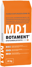 BOTAMENT� MD 1 SPEED- Flexible Dichtungsschl�mme 1K (BOTACT�)