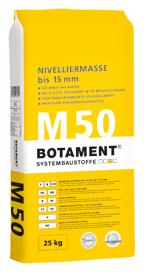 BOTAMENT® M 50 Nivelliermasse bis 15 mm (BOTACEM®)