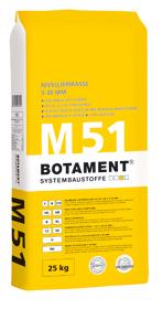 BOTAMENT� M 51 Nivelliermasse 5-30 mm (BOTACEM�)