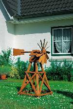Holz Windrad Santa Fe