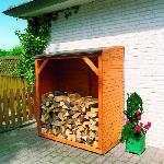 Holz Kaminholzschrank