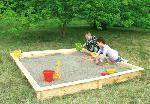 Holz Sandkasten Yanick