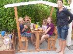 Holz Kinderpavillon Anna