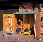 Holz Geräteschrank groß/doppelt