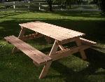 Holz Bierbank