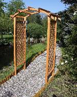 Holz Pergola Diana 1Stck./SET ,Breite:100 ,Tiefe:3cm ,Höhe:100cm