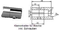 FACO Gel�nder F�llungshalter