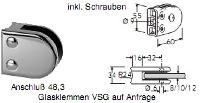 FACO Gel�nder Glaspunkthalter/Glasklemmen