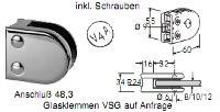 FACO Geländer Glaspunkthalter/Glasklemmen