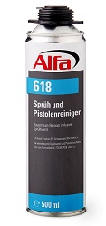 618 Alfa Sprüh-& Pistolenreiniger