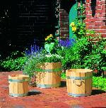 Holz Pflanzeimer