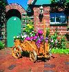 Holz Bollerwagen