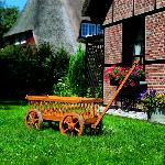 Holz Leiterwagen
