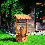 Holz Zierbrunnen Nürnberg