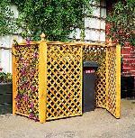 Mülltonnenbox für 2 Tonnen