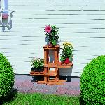 Holz Blumenpodest