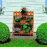 Holz Blumenetagerie Altes Land