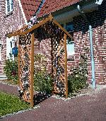 Holz Rosenbogen 1Stck./SET ,Breite:105 ,Tiefe:3 ,Höhe:100