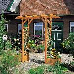 Holz Pergola Bamberg 1Stck./SET ,Breite cm:200 ,Tiefe cm:51 ,Höhe cm:208
