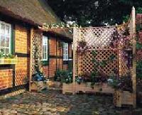 Holz Spaliersystem Romantica
