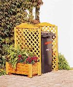 Mülltonnenspalier -Rex-