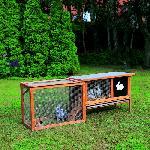 Holz Kaninchenstall LOTTA 1Stck./SET ,L