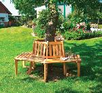 Holz Baumbank 1/Stck ,Breite:205cm ,Tiefe:89cm ,Höhe:90cm