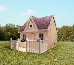 Holz Kinderhaus Schwalbennest