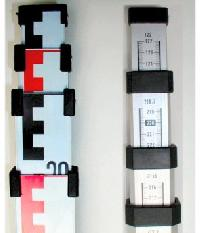 Nivellierlatte / Längenmessstab