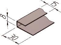 Vinylit® vinyCom® U-Profil 8/15/30