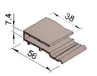 Vinylit® vinyCom® Anschlußprofil
