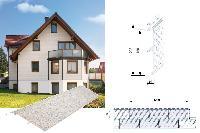 Vinylit® vinyStone 400® Fassaden-Profil - Quader mit Fase