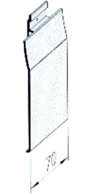 Vinylit® vinyPlus® Fassaden-Profil Verbindungssteg