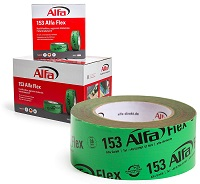 153 Alfa Flex Flexibles Folienklebeband