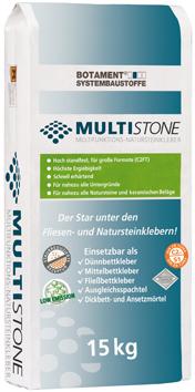 MULTISTONE - multifunktionaler Fliesen- und Natursteinkleber
