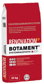 BOTAMENT® Renovation FP - Feuchteregulierungs-Feinputz (BOTAZIT®)