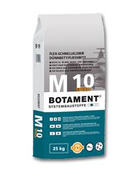 BOTAMENT® M 10 Speed – Flex-Schnellkleber Dünnbett / Fließbett